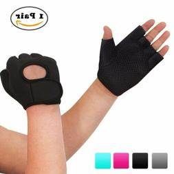 Nlife Power-Grip Half-finger SPORTS GLOVES,EXERCISE Ideal Fo