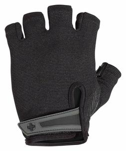 Harbinger Power Non-Wristwrap Weightlifting Gloves with Stre