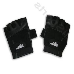 Power Up Weightlifter Fingerless Vented Leather Medium gym w