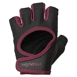 Harbinger Women's Power Weightlifting Gloves with StretchBac