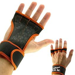 Cross Training Gloves with Wrist Support for WODs,Gym Workou