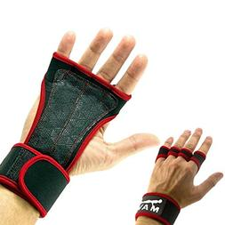 Mava Sports Gym Hand Grips for Better Fitness Wrist Support