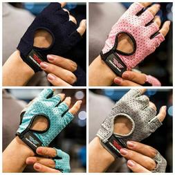 Sport Gym Gloves Half Finger Fitness Weightlifting Non Slip