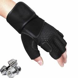 Sports Half Finger Gloves Fitness Breathable Weightlifting U