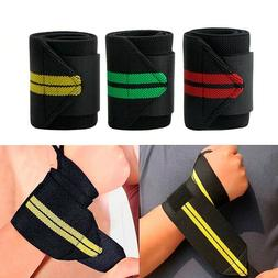 Support Gym Weight Lifting Gloves Bar Grip Hand Protection
