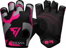 RDX Weight Lifting Gloves Gym Training Ladies Fitness Yoga W