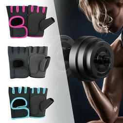 half finger weight lifting gloves training fitness