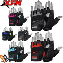 weight lifting gloves leather fitness gym training