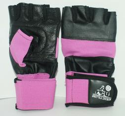 Nordic Lifting Weight Lifting Gloves - Pink/Black - Size Sma