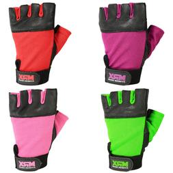 weight lifting gloves women fitness genuine leather