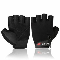 BEACE Weight Lifting Gym Gloves Anti-Slip Workout Exercise T