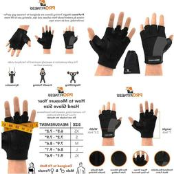 Profitness Weight Lifting Gym Gloves  | Durable Padded Desig