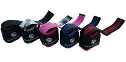 weight lifting gym straps wraps power training