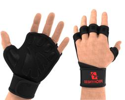 ProFitness Weight Lifting Ventilated Gloves Cross Training G