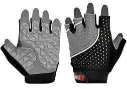 iiSPORT Weightlifting Gloves, Workout Gym Crossfit Fitness &