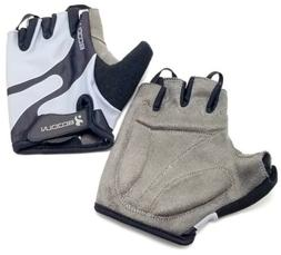 BCOOLN Weightlifting Gloves Training Padded Leather Palm Gym