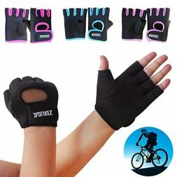 Fitness Gloves Weight Lifting Gym Sport Workout Training Wri