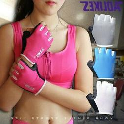 Women Men Weight lifting Gym Gloves Training Fitness Wrist W