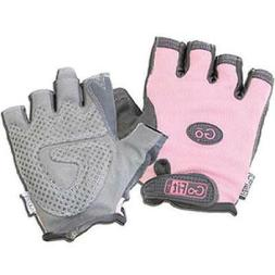GOFIT WOMEN'S PINK PEARL-TAC WEIGHTLIFTING GLOVES