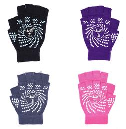 Women Yoga Pilates Fingerless Exercise Fitness WeightLifting