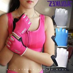 Womens Mens Sports Gloves Fitness Gym Exercise Weight Liftin