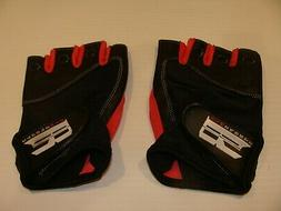 RIMSPORTS WOMENS PINK WEIGHTLIFTING WORKOUT GLOVES LARGE NEW