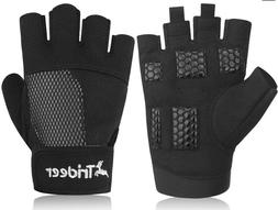 Trideer Womens Ultralight Weight Lifting Gloves Breathable A