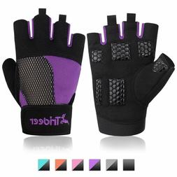 Trideer Womens Weight Lifting Gloves For Callus And Blister
