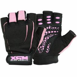 Womens Weight Lifting Gloves Gym Fitness Training Workout La