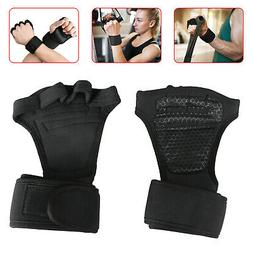 Work Out Gloves Weight Lifting Gym Wrist Wrap Sports Exercis