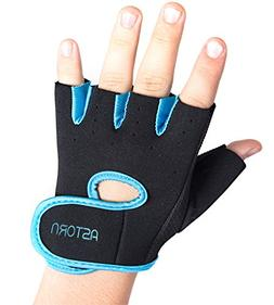 Astorn Workout Gloves for Cycling, Weightlifting & Crossfit