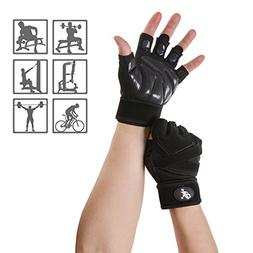 WENER Workout Gloves, Anti-skid, wear-resistant, breathable,