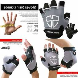 Steel Sweat Workout Gloves Best For Gym Weightlifting Fitnes