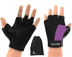 ProFitness guantes para Gym Mujer bar Grips Gloves Women Bik