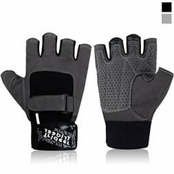 Trideer Workout Gloves for Weight Lifting Training Fitness E