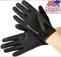 Workout Gloves Full Finger Palm Protection Hand Grip Gym Glo