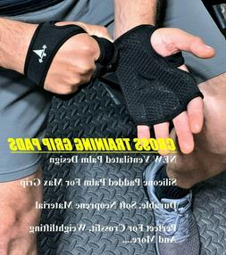 Workout Gloves Weight Lifting WOD Gym Crossfit Training Grip