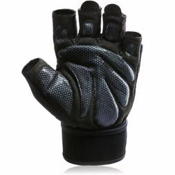 Aoliga Workout Gloves With Wrist Wrap Support For Weightlift