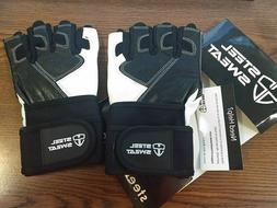 Steel Sweat Workout Gloves XL ~ Best For Weightlifting Gym F