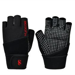 Workout Gym Training Gloves for Fitness Weight Lifting Cross