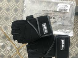 Trideer Workout Padded Gloves Men w/Wrist Support Weight Lif