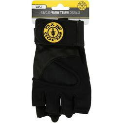 Golds Gym Wrist Wrap Gloves Strength Exercise Weight Trainin