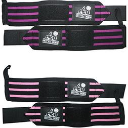 Wrist Wraps for Weightlifting/Cross Training/Powerlifting-Fo